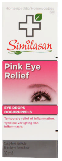 Similasan Pink Eye Relief Homeopathic Eye Drops 10ml
