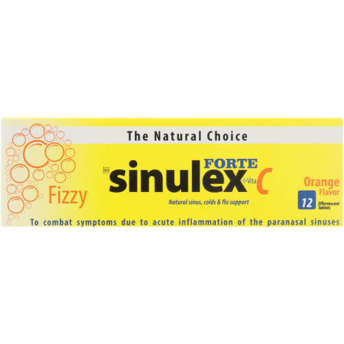 Sinulex Forte Effervescent Tablets