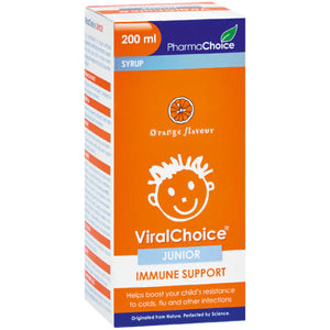ViralChoice Junior Immune System Supplement Orange
