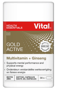 Vital Gold Ultimate A-Z Multi Plus 30 Capsules