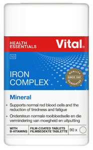 Vital Iron Complex Healthy Red Blood Cells (90)