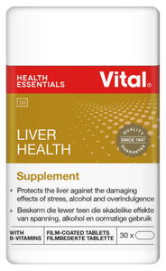 Vital Liver Rescue Liver Support And Detox 30 Tablets