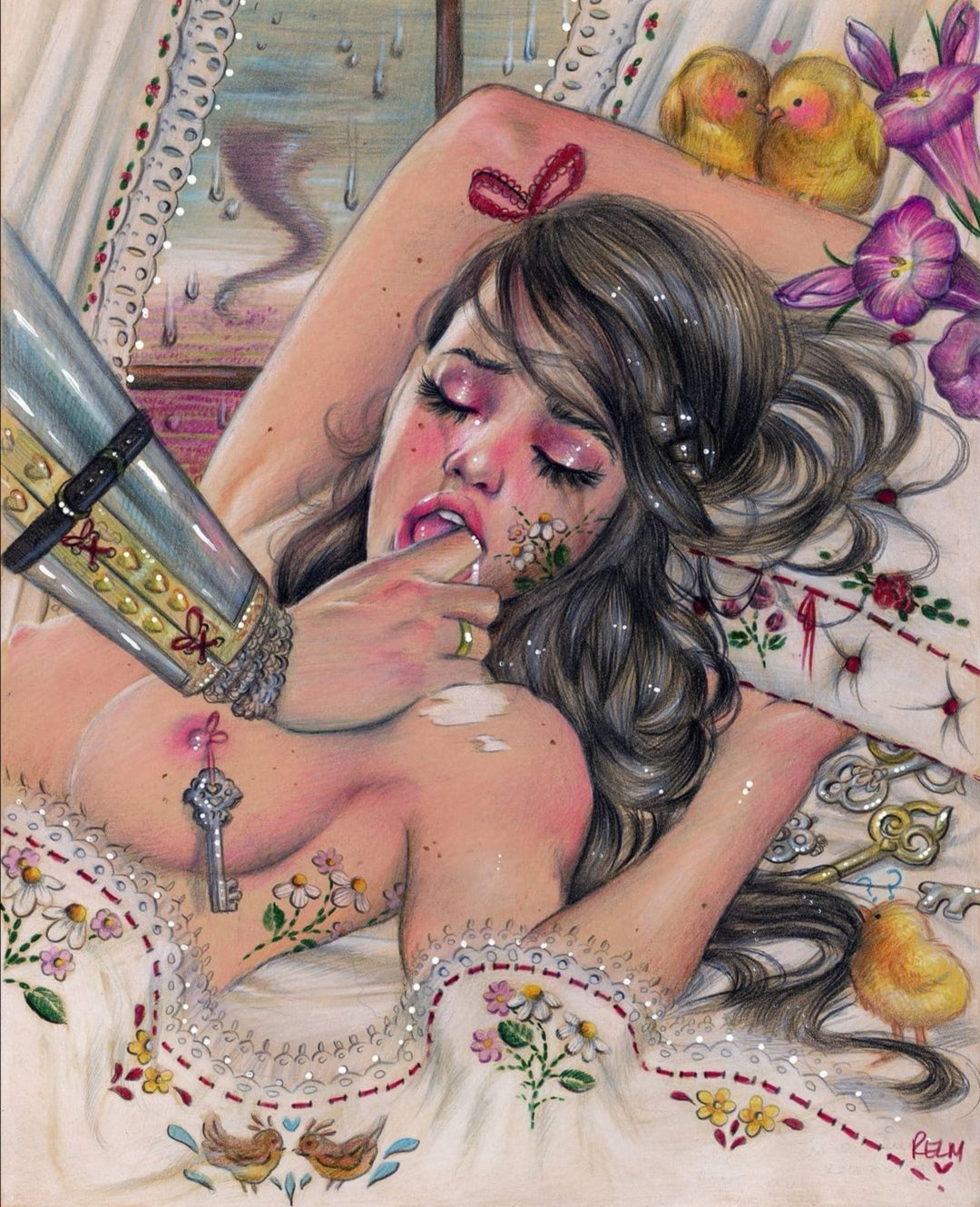 'Honeymoon Sweet' Limited Edition Print