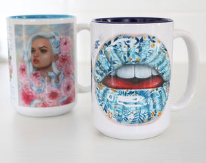'Porcelain Lips' Limited Mug