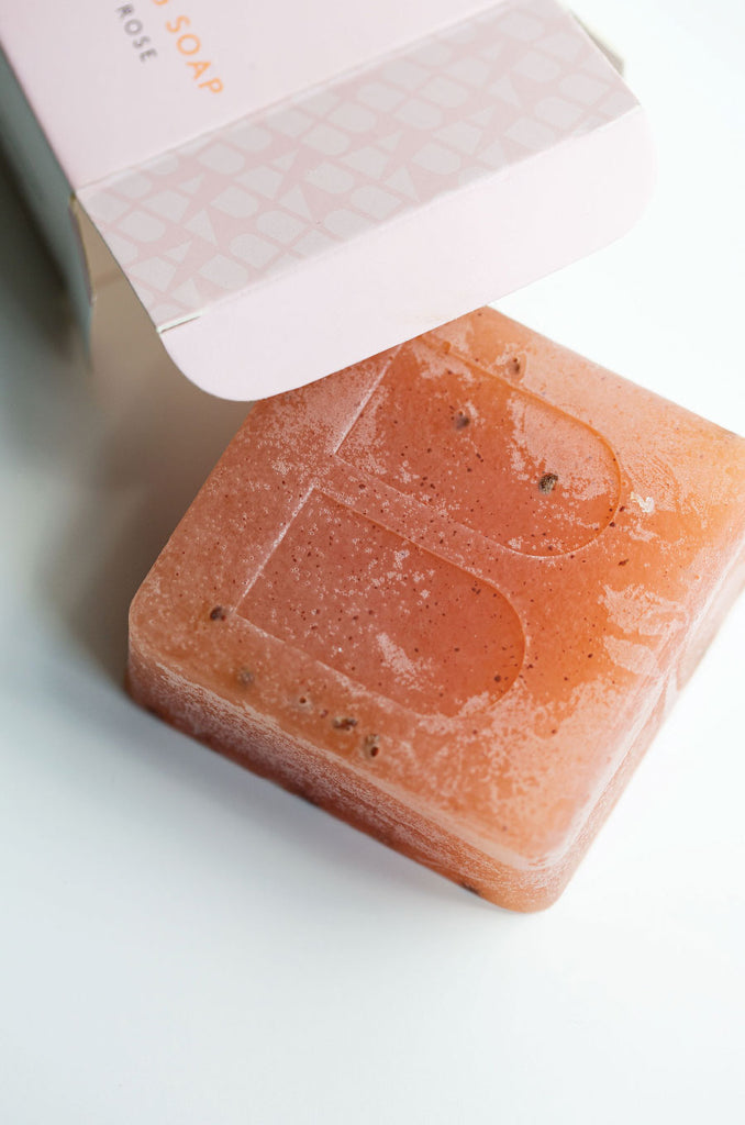 PINK EXFOLIATING SOAP