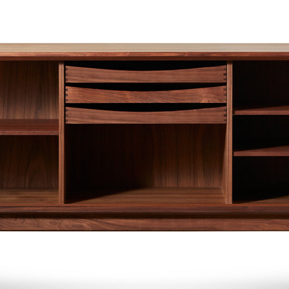 Bernhard Peterson & Søn Walnut Credenza Model 142