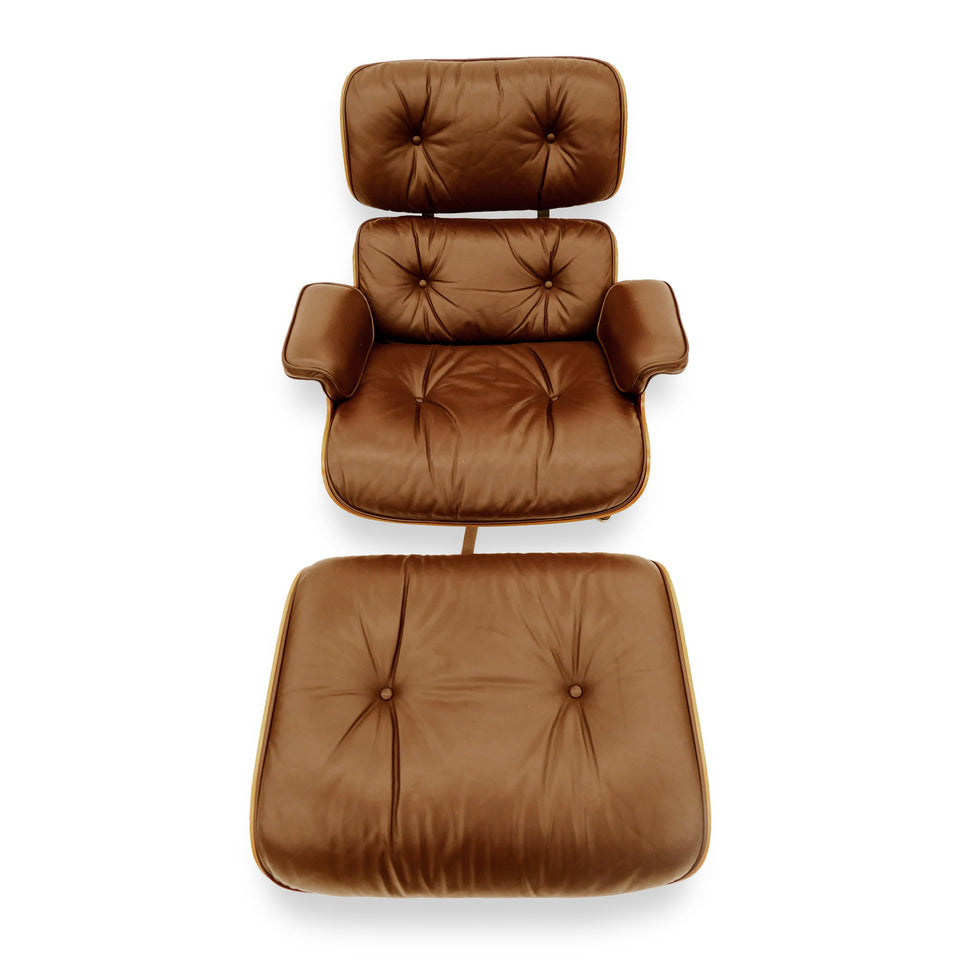 Vintage Eames Lounge Chair and Ottoman for Herman Miller