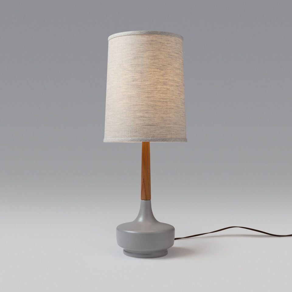 "Mid-Century Table Lamp ""Brooke Nantucket #2"""