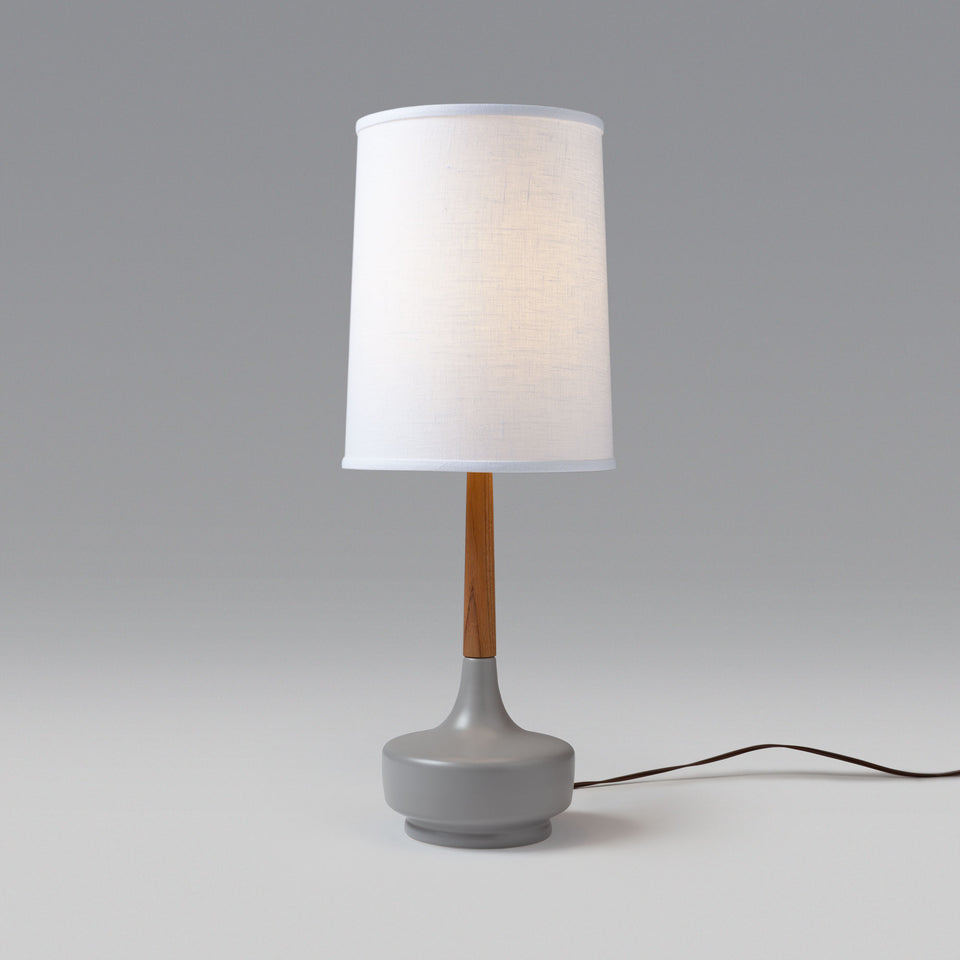 "Mid-Century Table Lamp ""Brooke Nantucket #3"""