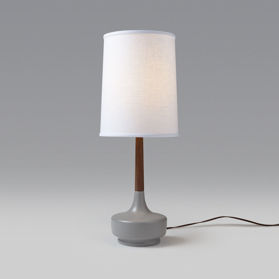 "Mid-Century Table Lamp ""Brooke Nantucket #9"""