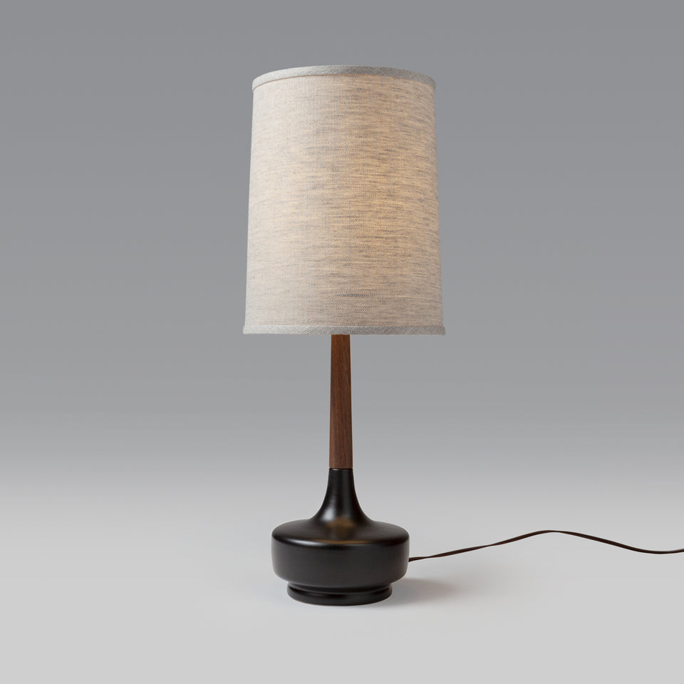 "Mid-Century Table Lamp ""Brooke P-Town"""