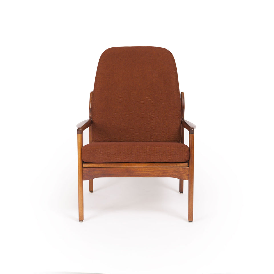 Vintage Fler Narvik Highback Arm Chair designed by Fred Lowen