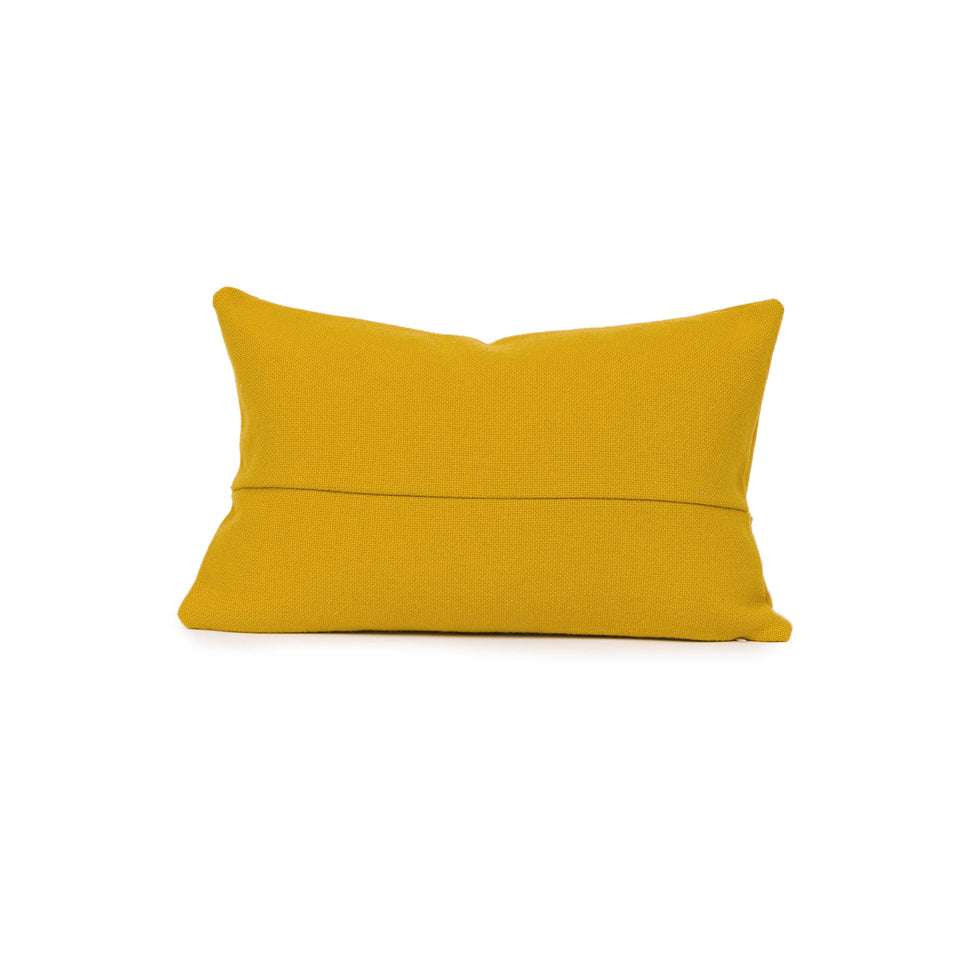 Mustard Mid-Century Throw + Lumbar Pillow Cover (pair)