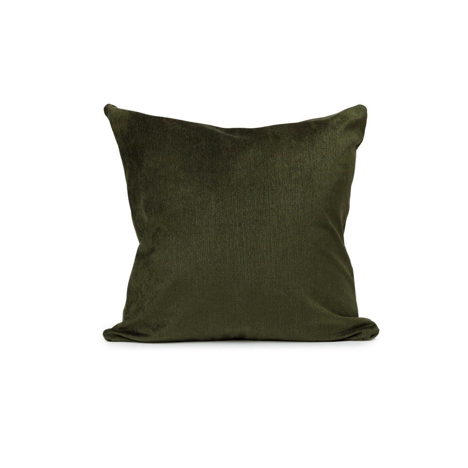 Deep Forest Mid-Century Accent + Lumbar Pillow Cover