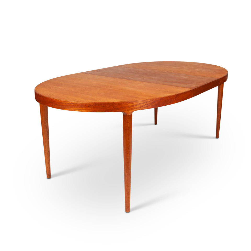 Moreddi Danish Modern Teak Expanding Dining Table