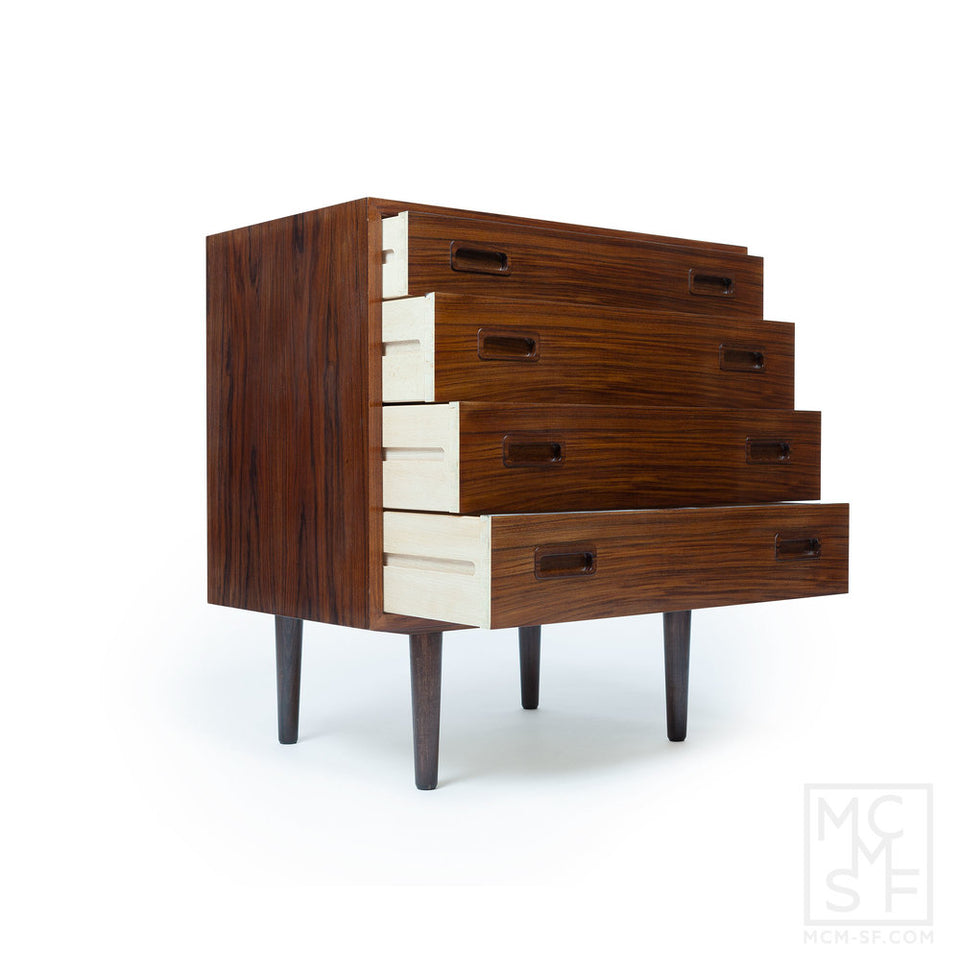 Vintage Danish Modern Rosewood Chest