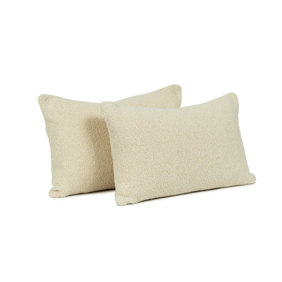 Lush Snow Lumbar Pillow Cover (pair)