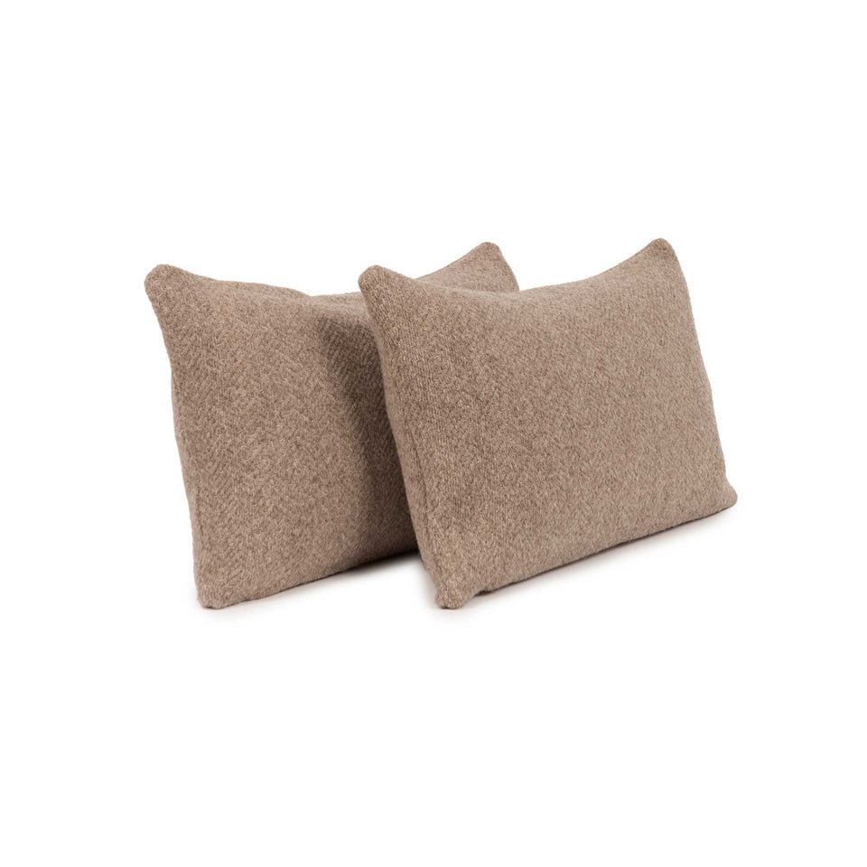 Misanga Wool Lumbar Pillow Insert (pair)