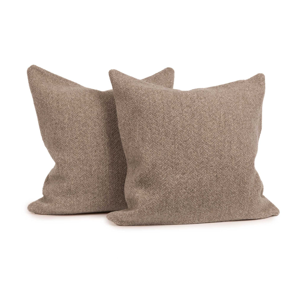 Misanga Wool Throw Pillow Insert (pair)