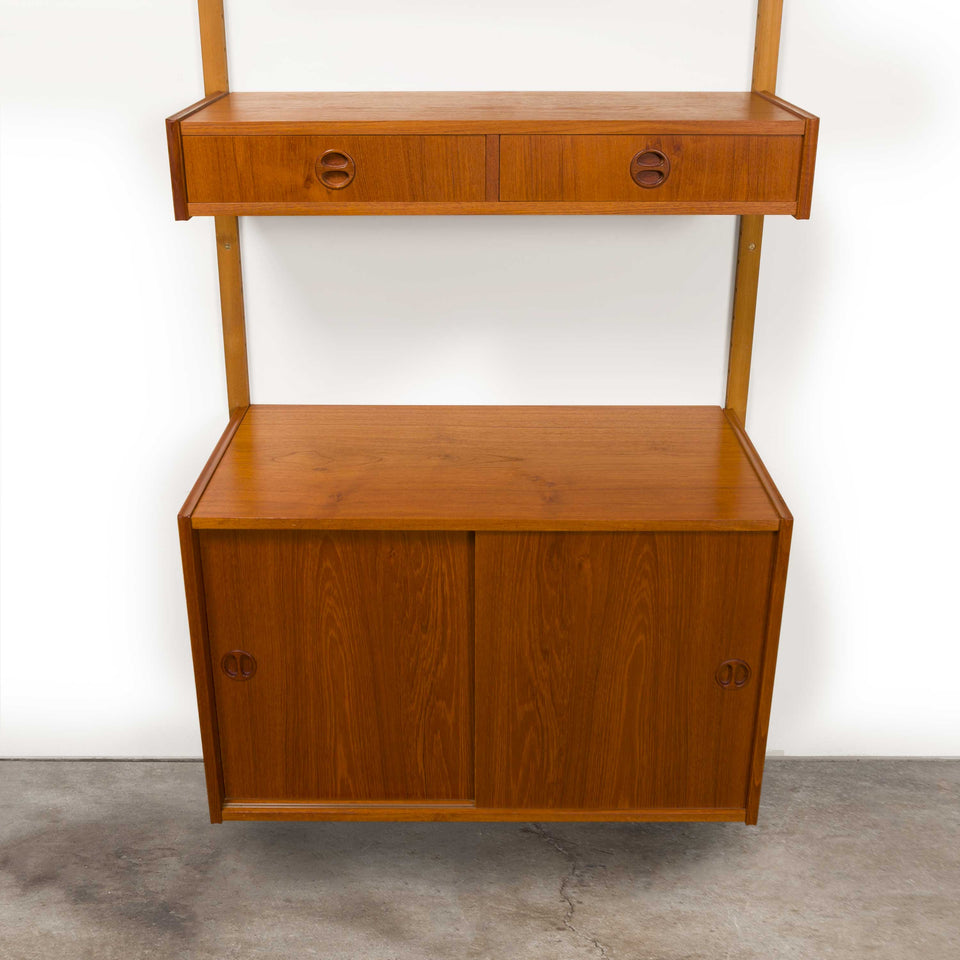Vintage Danish Mid-Century Royal System by Poul Cadovius