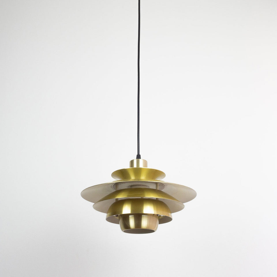 Opus and Alexia Danish vintage pendant lamps by Jeka