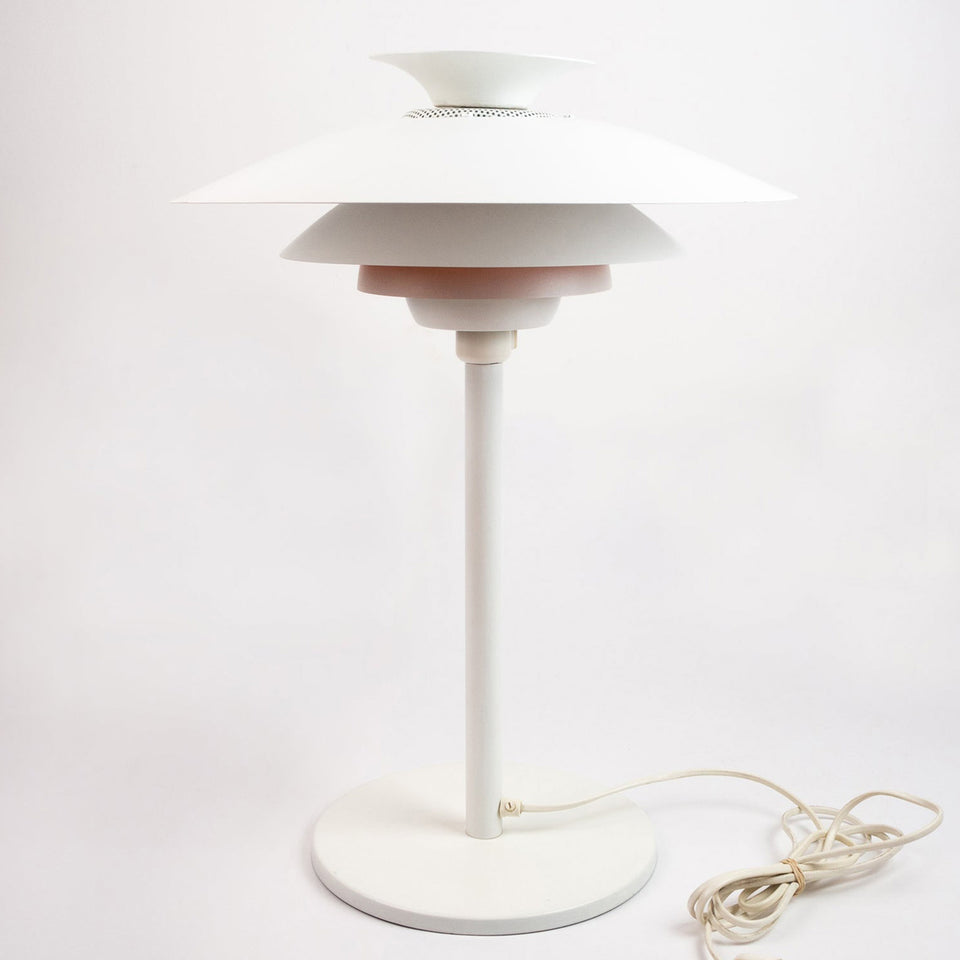 Danish vintage table lamp and pendant lamp by Jeka by Kurt Wiborg, Denmark, 1980s