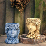 Goddess Flower Pot