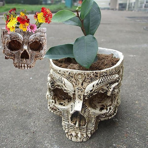 Skull Flower Pot (60% OFF)