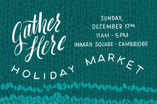 gather here handmade holiday market