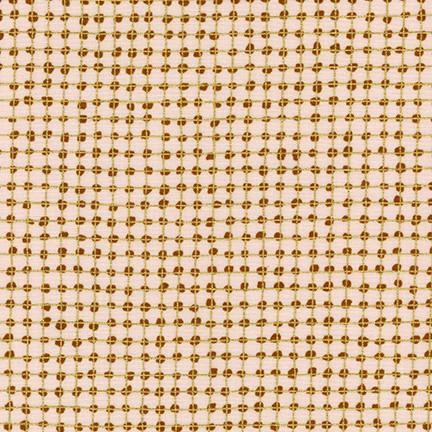 Carolyn Friedlander - Dots Metallic Spice - - gatherhereonline.com
