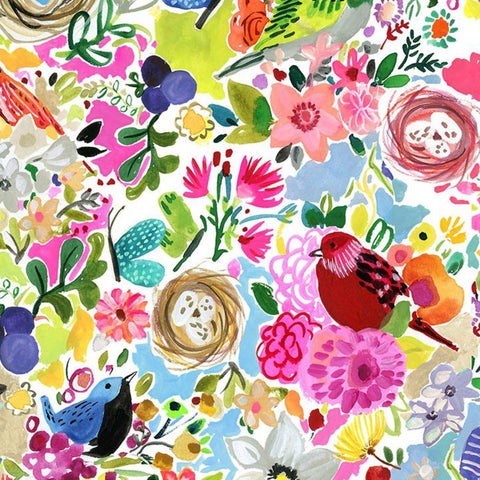 Dear Stella-Midsummer Dream, Bird Jungle-fabric-gather here online