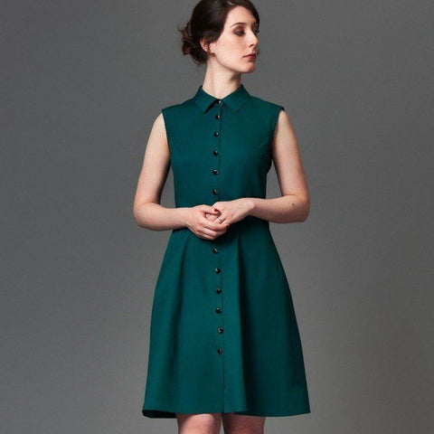 Deer & Doe - Bleuet Dress Pattern - Default - gatherhereonline.com