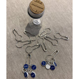 girl on the rocks - Tiny Jar of Increase Stitch Markers - - gatherhereonline.com