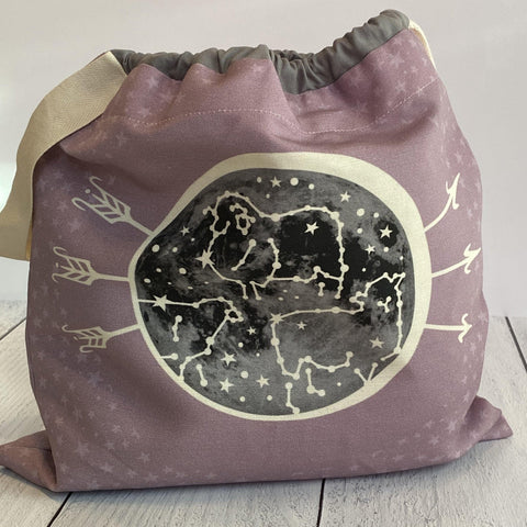 Home Row Fiber Co. - Celestial Sheep Keepsake Bag - - gatherhereonline.com