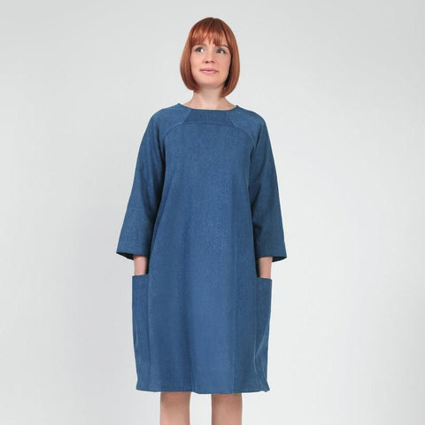 In The Folds-Rushcutter Dress Pattern-sewing pattern-gather here online