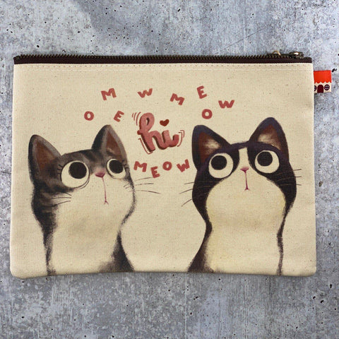 Little Red House-Meow Pouch-accessory-gather here online