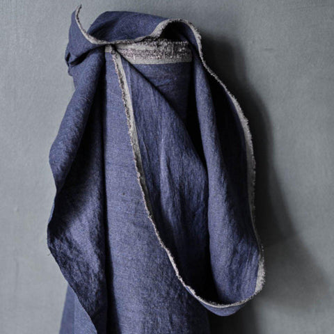 Merchant & Mills-Indian Ink Mid-weight Linen-fabric-gather here online