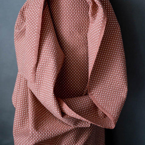 Merchant & Mills-Moyo Pink - Seersucker-fabric-Default-gather here online