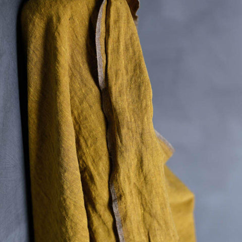 Merchant & Mills-Souk Laundered Mid-weight Linen-fabric-Default-gather here online