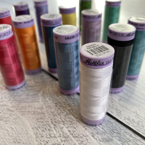 Mettler - 150m Mettler Cotton Thread to match - - gatherhereonline.com