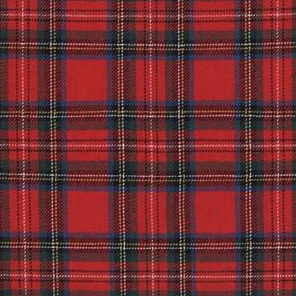 Robert Kaufman - Classic Plaid Twill, Red - Default - gatherhereonline.com