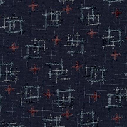 Sevenberry-Boxes Indigo-fabric-gather here online