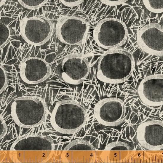 Windham Fabrics - Scribbles and O's - Default - gatherhereonline.com