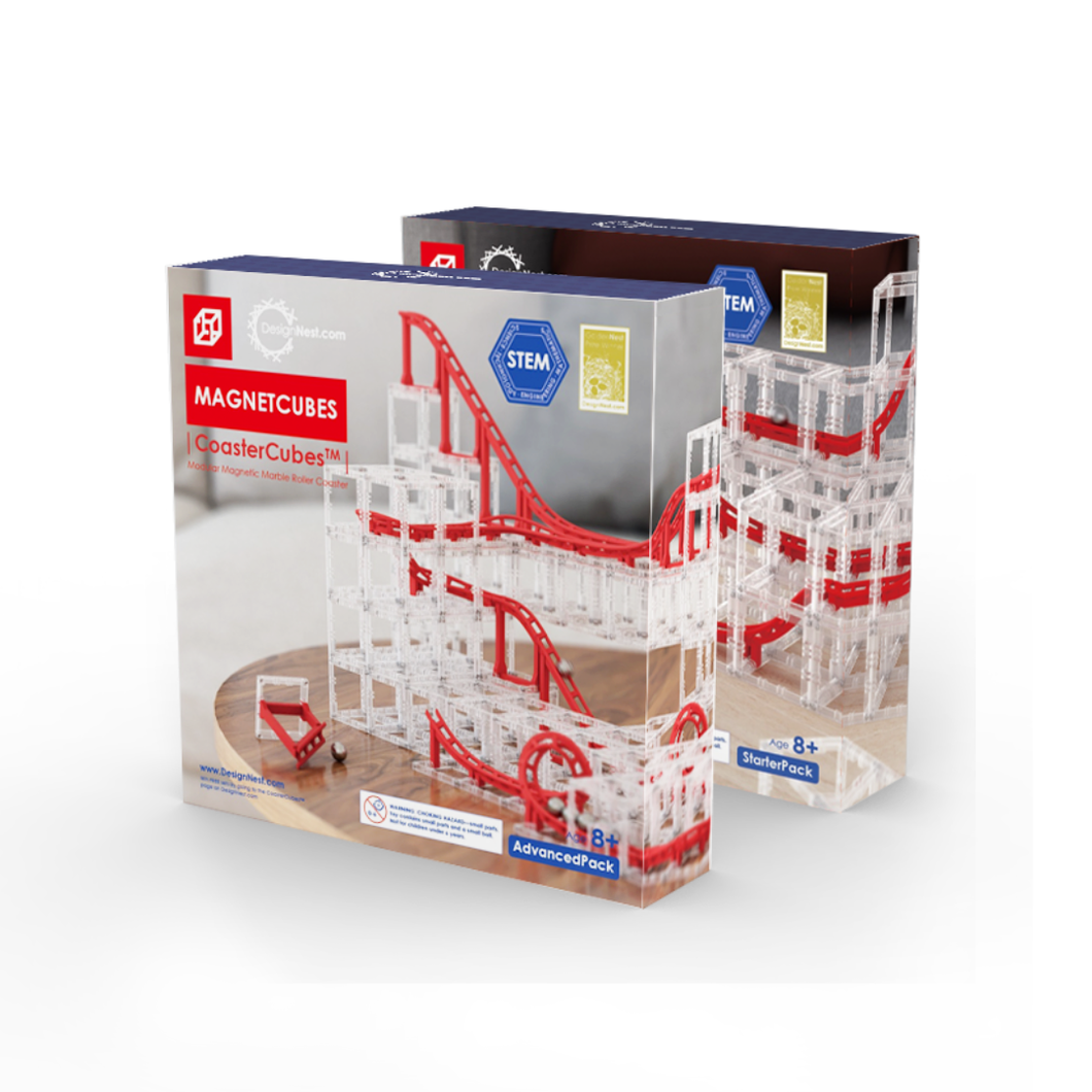 Coaster Cubes | Advanced Pack + Starter Pack Combo