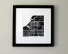 Anchorage Alaska Hand-Drawn Map Print - Salty Lyon - 2