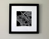 Henderson Nevada Hand-Drawn Map Print - Salty Lyon - 2