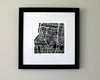 Memphis Tennessee Hand-Drawn Map Print - Salty Lyon - 2