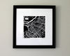 Schenectady New York Hand-Drawn Map Print - Salty Lyon - 2