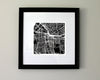 Syracuse New York Hand-Drawn Map Print - Salty Lyon - 2
