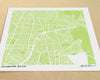 Cochabamba Bolivia Hand-Drawn Map Print - Salty Lyon - 1